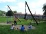 Nové hrací prvky na školní zahradě